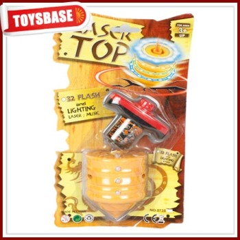 Electronic beyblade peg top