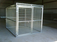 Heavy duty galvanize dog kennel factory