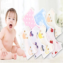 Private label 100% Cotton Best Seller organic Baby Bandana Bibs