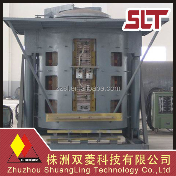 Hydraulic tilting type stainless steel ss body melting furnace