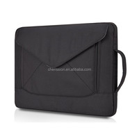 "13"" Custom laptop sleeve with side handle for men"