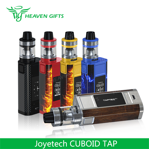 New Coming 4ml ProCore Aries Tank 228W Joyetech CUBOID TAP electronic cigarette ce rohs