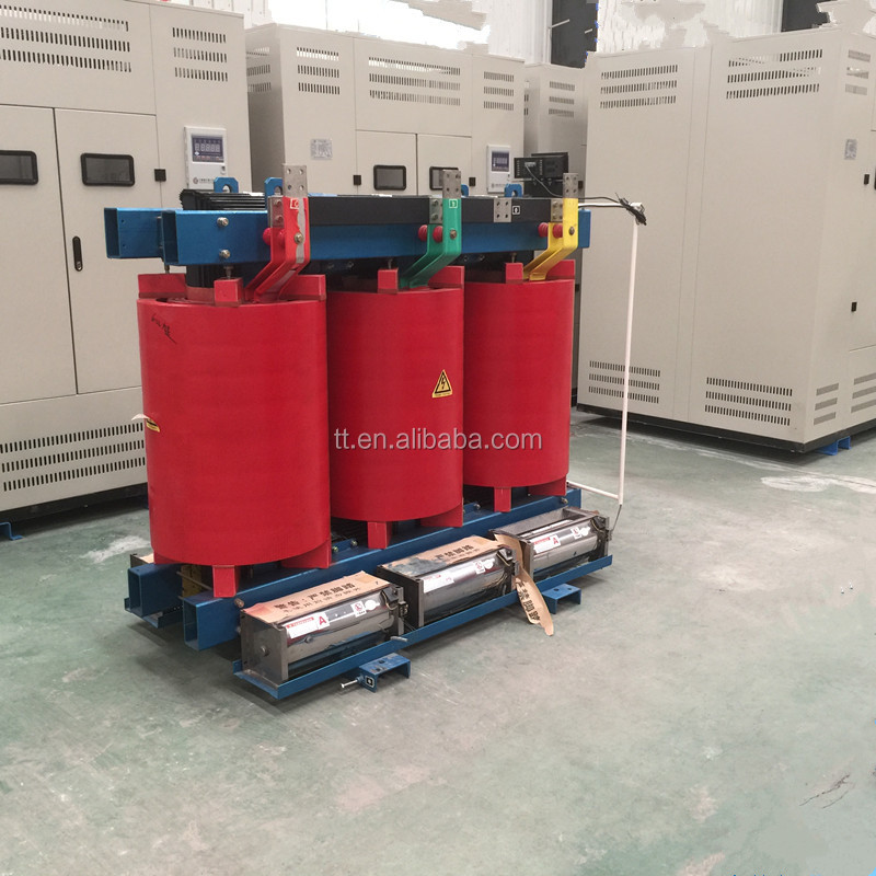 SCB10 500KVA 35KV Step Down Resin-Cast Dry-Type Electrical Transformer