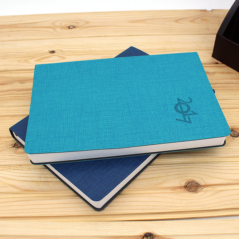 New design Leather diary 2016