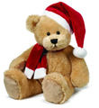 Plush Teddy Bear For Christmas Festival/Xmax Plush teddy bear
