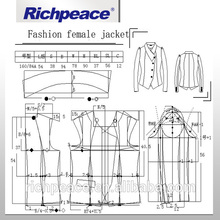 Richpeace Free Fashion Design And Marking Amd Grading Garment Pattern Design CAD Software