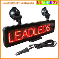 alibaba express Top quality factory price indoor counter car 16x96 scrolling led sign letter