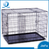 "extra large 48"" folding pet dog crate"