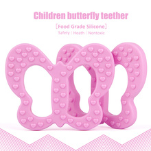 Food Grade silicone pendant Baby teether/ silicone giraffe teether