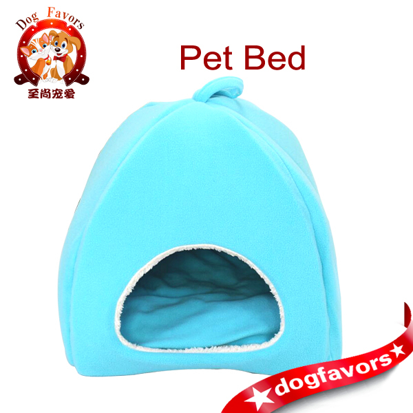 Pet supplies wholesale fashion colorful Mongolian yurt folding dog house pet nest kennel - trumpet