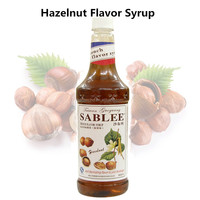 SABLEE French Hazelnut Flavor Syrup S203 Soft Drinks Molasses 900ml