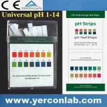 Ph alcalin solution tests 4.5 - 9.0