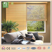 Beautiful chinese painted bamboo blinds