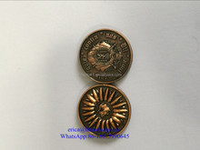 high quality custom antique brass Metal Souvenir challenge coin