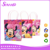 High quality pp laminated woven tote bag with cute print