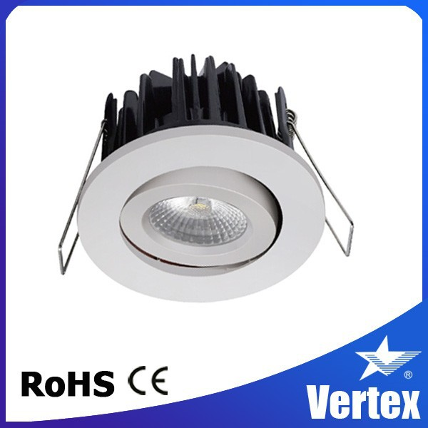 8 colours dimmable Ceiling mounted adjustable spot light