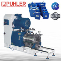 Puhler Nano Level Grinding Mill Machine Bead Mill For Architectural Paint