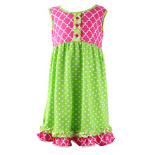 wholesale boutique velvet frock design dress photos 2 year old kids girl dress fashion baby cotton frocks designs