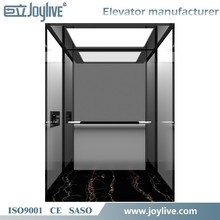 Commercial and Comfortable Building Stainless Steel Passenger Elevator Lift Price