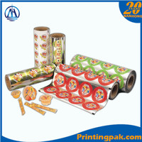 Lidding film for plastic cup packaging/Yogurt/Jelly film