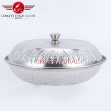 2016 Stainless steel Mirror polish Fruit Tray/food tray/food dish