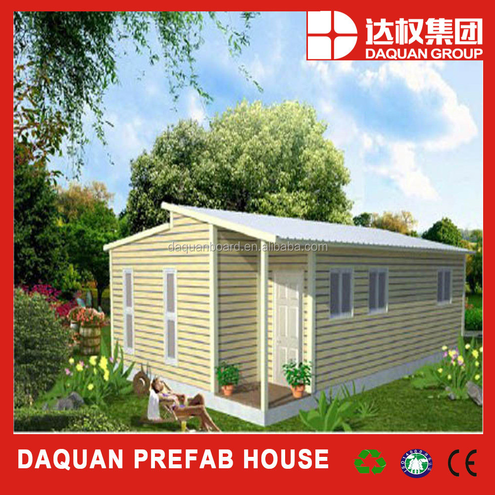 45m2 prefabricated log cabin for personal living vocation with all fittings