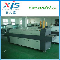 Made in china smt reflow solder full hot air lead free hot air circulating oven