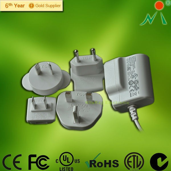 AU, UK, EU, US plug switching power supply 5v 12v 15v 24v 9 volt 19v 6.32a 120wac power adapter