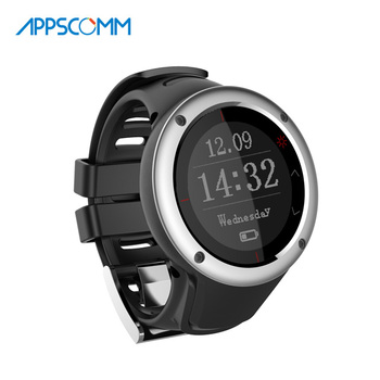2017 APPSCOMM Smart Watch Heart Rate Monitor Bluetooth Smart Sport Watch Waterproof Smart Wristwatch for Android or IOS Phones