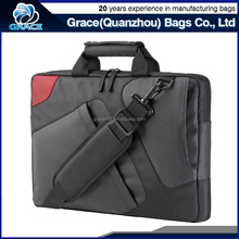 cheap competitive price polyester fashion laptop bag with shoulder pad