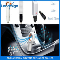 CiXi Landsign competitive price air ionizer type air purify maker EP501mini car auto fresh air purifier oxygen bar ionize