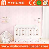 Baby room decorative non woven wallpaper suppliers china for kids