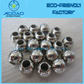 Nickel Plated Metal Cord Ends Stopper Draw Cord Stopper