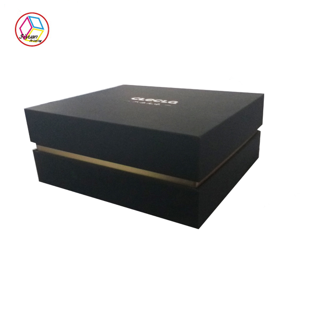 High quality luxury custom made luxury small gift box packaging withEVA foam insert