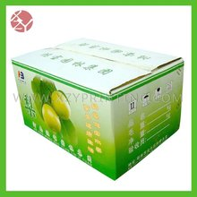 Pear or orange packing cartons