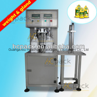 Double Heads Semi Automatic Weight Food
