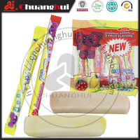 Mango & Strawberry & Apple Fruits Flavors Chewing Double Chewy Candy