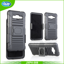 Factory wholesale armor holster belt clip kickstand case for samsung galaxy grand prime g530