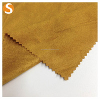 Hot Sell Fashion 90 polyester 10 spandex Kint Soft Suede Jersey fabric