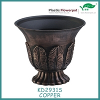 Indoor painting plant pot