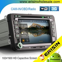 "Erisin ES3048V 7"" Car DVD GPS Navigation for EOS Sharan"
