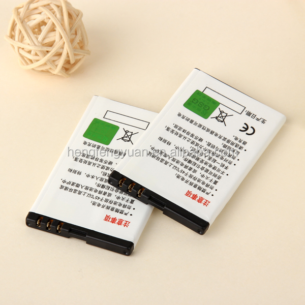 Factory provide 1000mAh battery BL-4U for Nokia E66 5530 N500 5250 C5-03 C5-05 2060 210