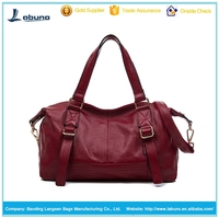 Fashion Women Genuine Leather Handbag For Lady From China