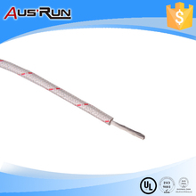 vde h05sj-k flexible fiber glass braided tinned copper conductor silicone rubber insulated wire