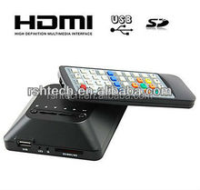 Full HD 1080P Mini Media Player for Home Entainment HDMI output External Hard Drive Display with Audio&Video&USB output