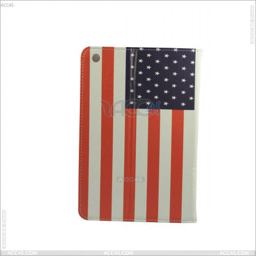 For iPad Mini Case Flag Pattern Leather Stand Cover Case P-iPDMINICASE064