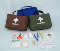 Factory Promote Emergency kit Canvas First Aid Bag kit