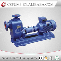 Horizontal self priming water lifting sewage pumps, centrifugal self-priming pumps