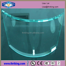 Thriking Glass widely used bent tempered glass 3-19mm