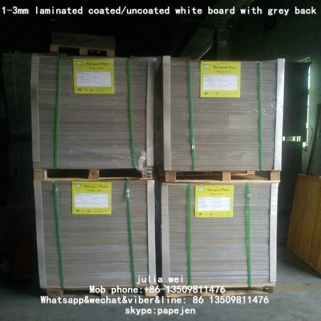 White face Coated Duplex Board Grey Back Packaging In Sheets